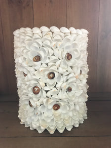 Clamrose Shell Hurricane / Vase