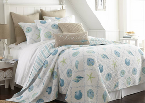 Quilted Bedding Ensemble - Marine Dreaming