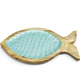 Shimmering Scales Fish Tray w/Cheese Slicer