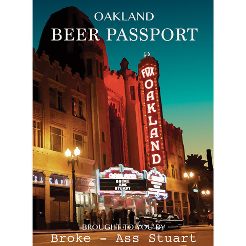 Oakland Beer Passport (2016-17)