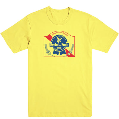 Broke-Ass Beer Men's Tee