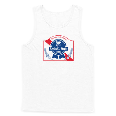 Broke-Ass Beer Tank Top