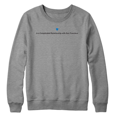 Complicated Relationship Crewneck