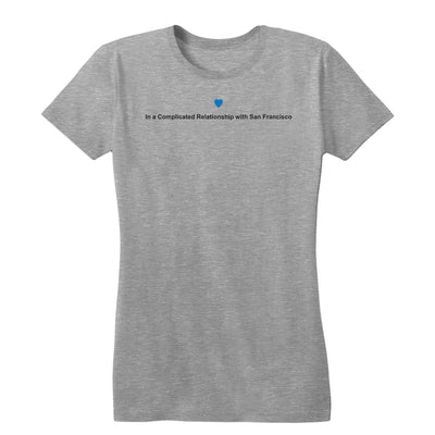Complicated Relationship Women's Tee