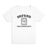 Defend SF Kid's Tee