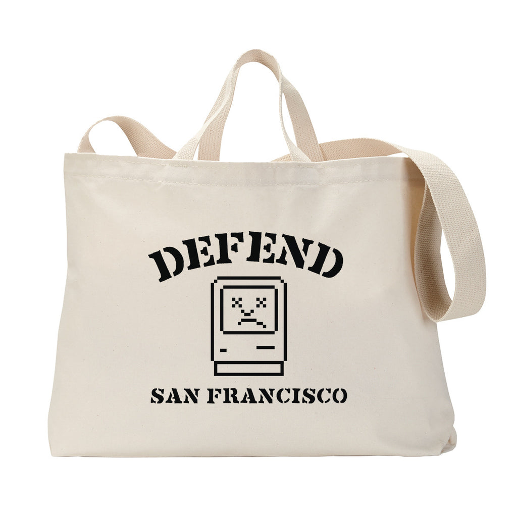 Defend SF Tote Bag
