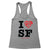 I Still Love SF Women's Racerback Tank