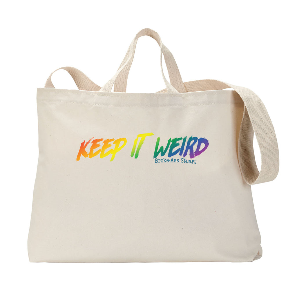 Keep It Weird Tote Bag