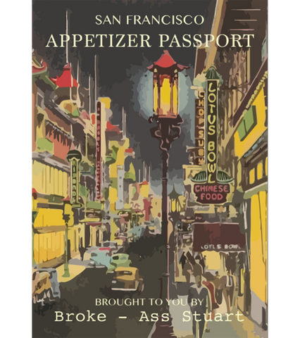 San Francisco Appetizer Passport (Exp Dec 31 2016)