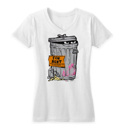 Stuart the Grouch Women's V