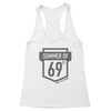 Summer of 69 Women's Racerback Tank