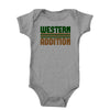 Western Addition Onesie