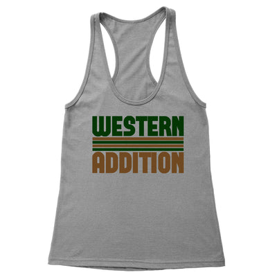 Western Addition Women's Racerback Tank