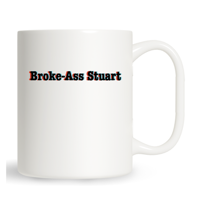 Young Broke Beautiful 3D Mug