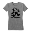 "Felix the Cat "" Fuck the Police"" Women's T-Shirt"