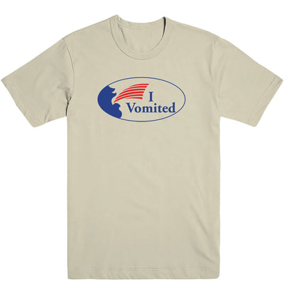 I Vomited Sticker Men's Tee
