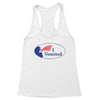 I Vomited Sticker Women's Racerback Tank