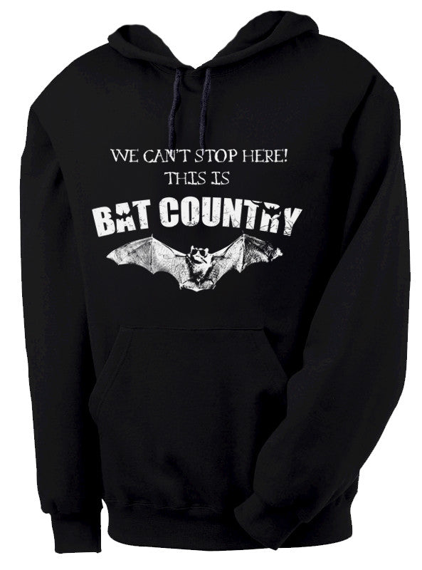 Hunter S. Thompson Bat Country Hooded Sweatshirt