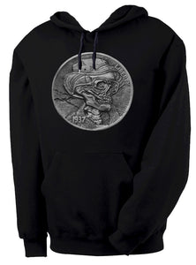 Hunter S. Thompson Hobo Nickel Hooded Sweatshirt