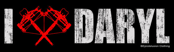 I Love Daryl Dixon Bumper Sticker