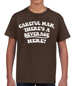 Big Lebowski Beverage Kid's Shirt by Epicdelusion