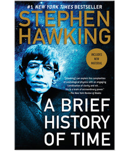 Stephen Hawking a Brief History of Time Paperback Book