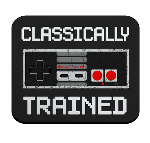 Classically Trained Premium Mouse Pad by Epicdelusion