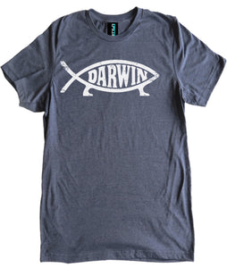 Darwin Fish Premium Shirt by Epicdelusion