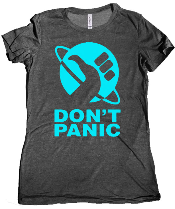 Don't Panic Premium Women's Shirt by Epicdelusion