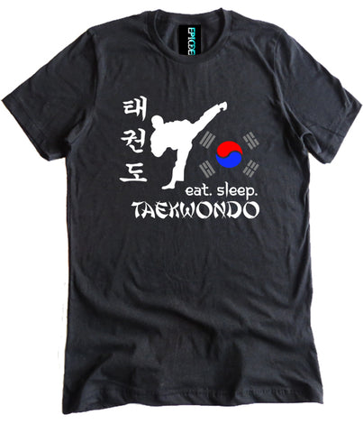 Eat Sleep Taekwondo Premium Shirt