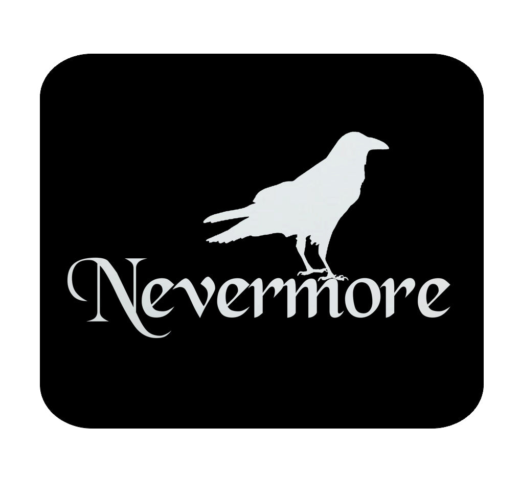 Edgar Allan Poe Nevermore Premium Mouse Pad by Epicdelusion