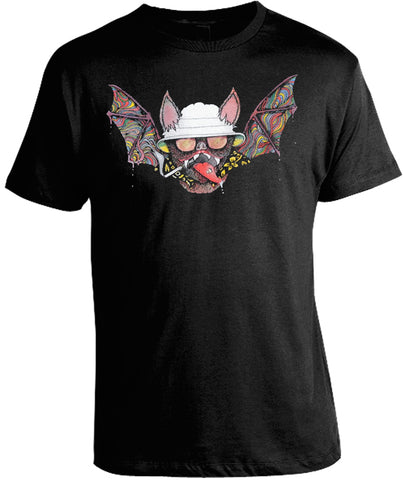 Fear and Loathing Bat Shirt by Epicdelusion