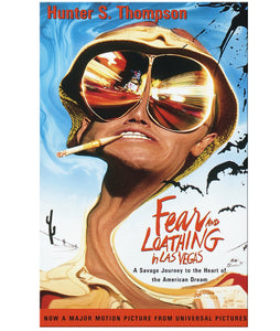 Fear and Loathing in Las Vegas Paperback Book