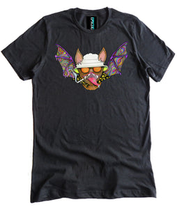 Hunter S. Thompson Psychedelic Bat Premium Shirt