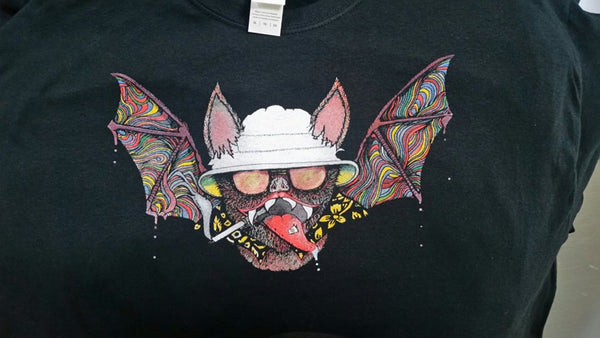 Fear and Loathing Bat Shirt