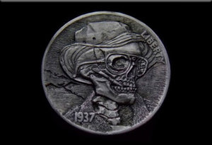 Hobo Nickel Magnet by Epicdelusion