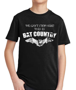 Hunter S. Thompson Bat Country Kid's Shirt by Epicdelusion