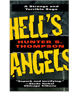 Hunter S. Thompson Hell's Angels Paperback Book