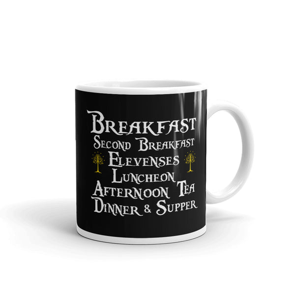 Lord of the Rings Second Breakfast Coffee Mug by Epicdelusion