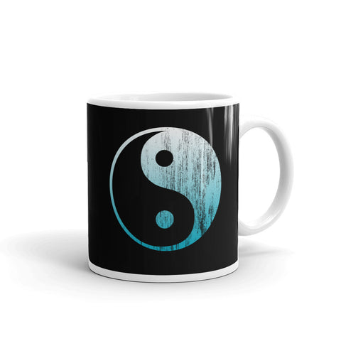 Yin Yang Symbol Coffee Mug by Epicdelusion