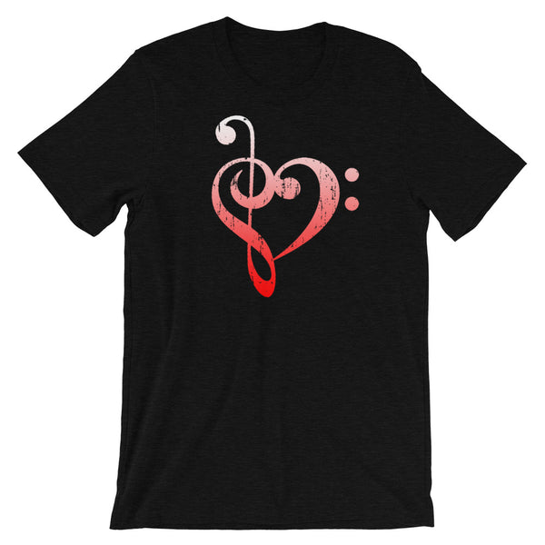 Bass Treble Heart Premium Shirt