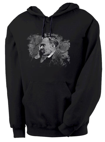 Nietzsche Hoodie by Epicdelusion