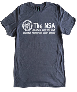 NSA Conspiracy Theories Premium Shirt