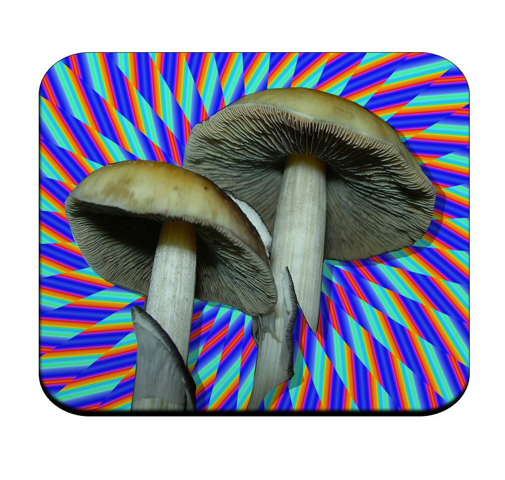 Psychedelic Shrooms Premium Mouse Pad