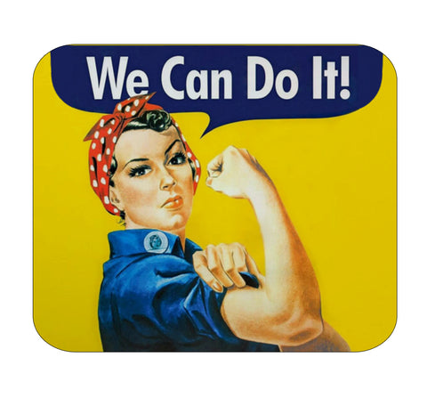 Rosie Riveter Premium Mouse Pad by Epicdelusion