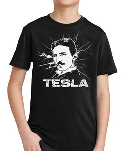 Tesla Kid's Shirt by Epicdelusion