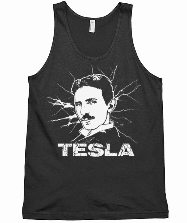 Tesla Tank Top by Epicdelusion