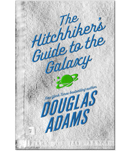 The Hitchhikers Guide to the Galaxy Paperback Book