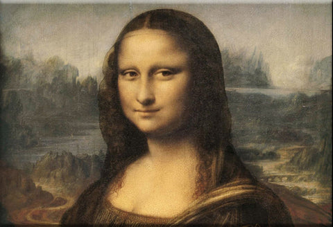 The Mona Lisa Magnet by Epicdelusion