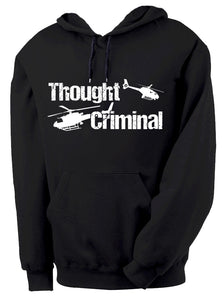 Thought Criminal Hoodie by Epicdelusion